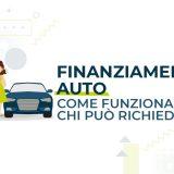 Finanziamento auto come funziona